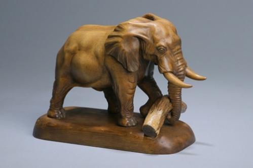 Сергей Чеченов. Африканский слон
