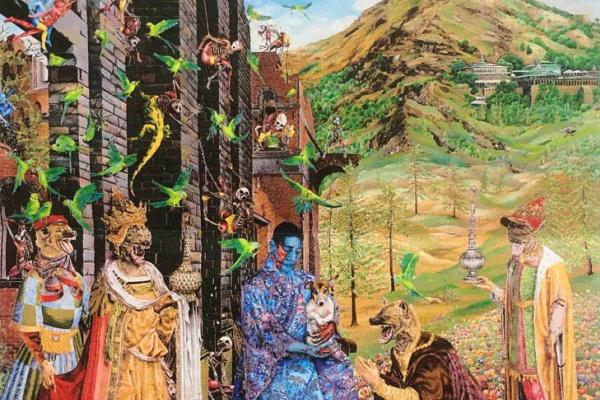 Rakib Shaw. Worship (inspired Mabuza)