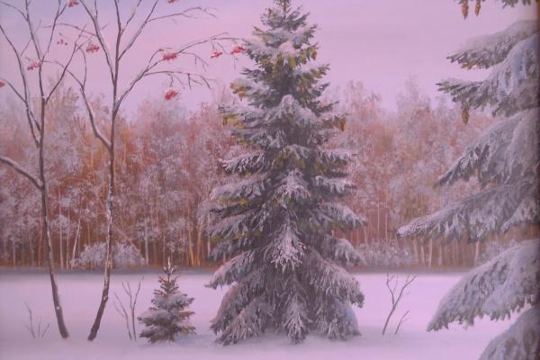 Сергей Яковлевич Краев. Зима