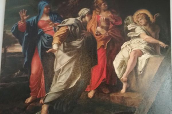 Bartalome Esteban Murillo.. Myrrh-bearing wives