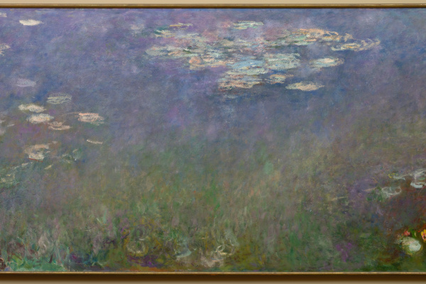 Claude Monet. Water Lilies (Agapanthus)