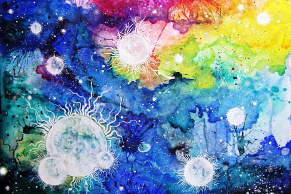 Olson Olberburg. Star nebula