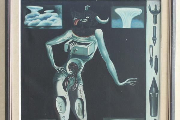 Неизвестный  художник. Минотавр (Сальвадор Дали)