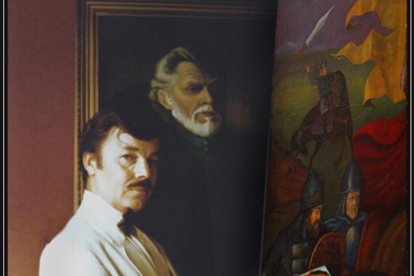 Vladimir Pavlovich Parkin. Художник Владимир П. Паркин. 1990 г.