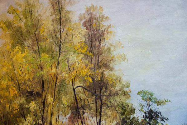 Андрей Шарабарин. Пейзаж в осенних тонах