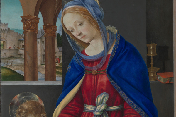 Filippino Lippi. The Madonna and child