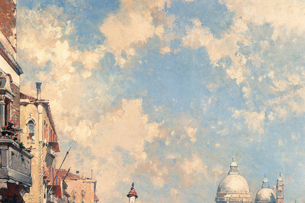 Франц Ричард Унтербергер. Большой канал, Венеция