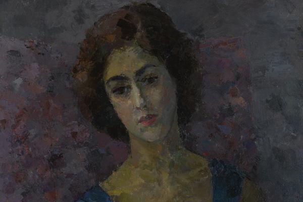 Robert Rafailovich Falk. Greek Woman (Portrait of Inna Costakis)