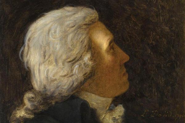 Jacques-Louis David. Portrait of Bertrand Barre de Vietata