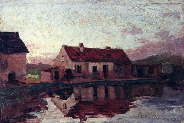 Alexey Petrovich Bogolyubov. House in Franzsbad