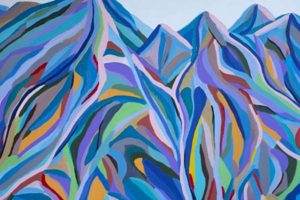 Лариса Сиверина. Color mountains