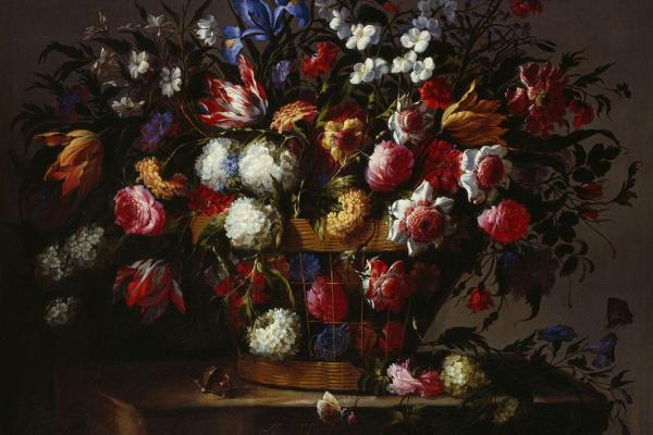 Хуан де Арельяно. Цветочный натюрморт