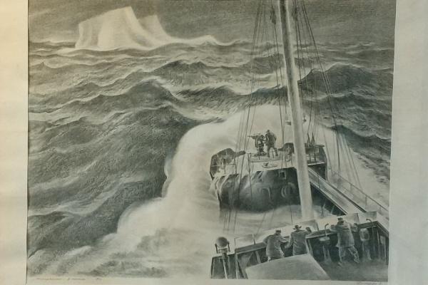 Евгений Федорович Димура. Антарктика - в поиске. 1986г.