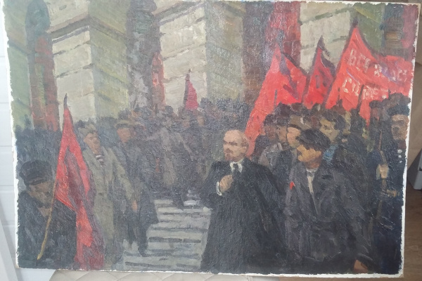 ZemskovLion. Lenin in 1917