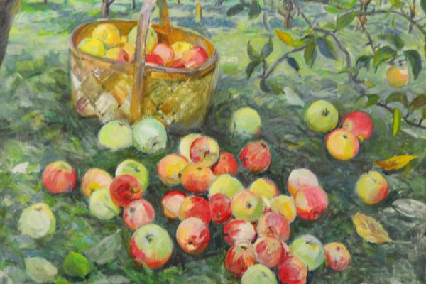 Ekaterina Vasilyevna Syromyatnikova. Apples