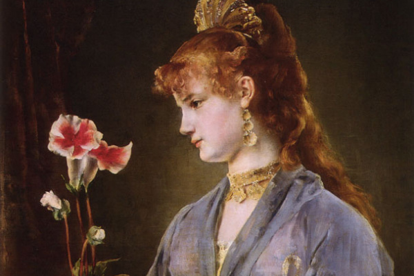 Альфред Стивенс. Женский портрет (Яматори)