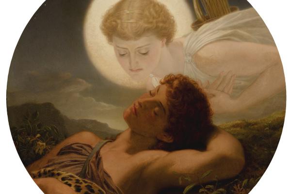 Joseph Noel Paton. A Dream of Latmos