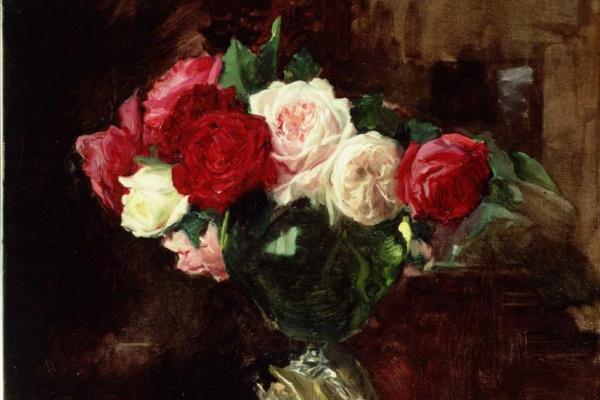 Joaquin Sorolla (Soroya). Roses