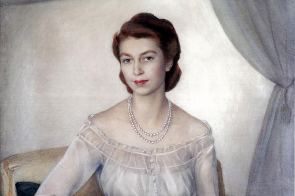 Савелий Абрамович Сорин. Портрет принцессы Елизаветы. (Сейчас королева Великобритании).