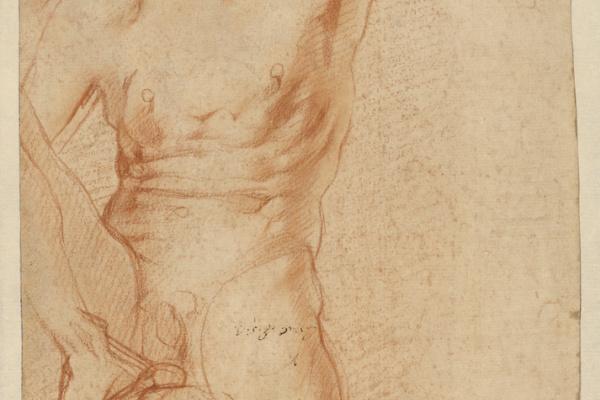 Jacopo Pontormo. Sitting figure