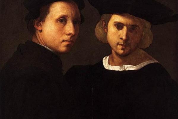Якопо Понтормо. Портрет двух друзей