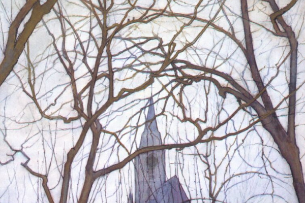 Piet Mondrian. The Church Of St. Jacob, Winterswijk