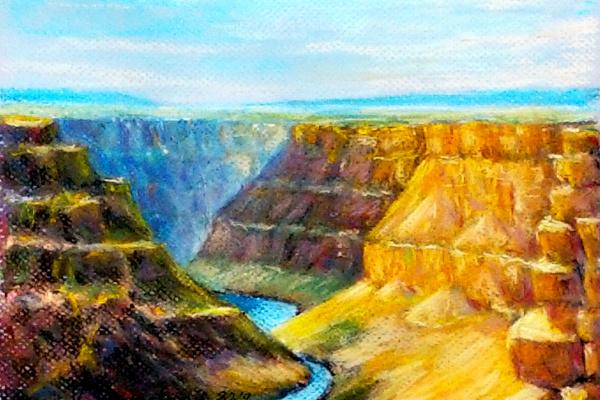 Vladimir Skvortsov. Grand Canyon