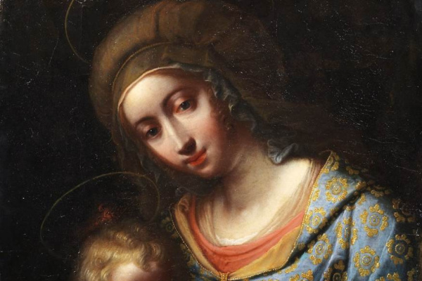 Mario Balassi. Мадонна с младенцем