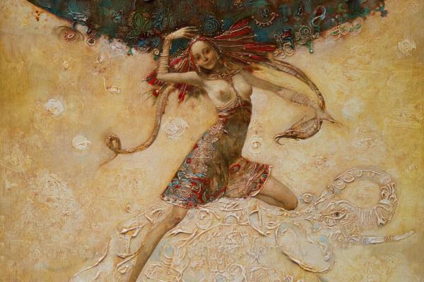 Alexander Dolgikh. Dance in the sky