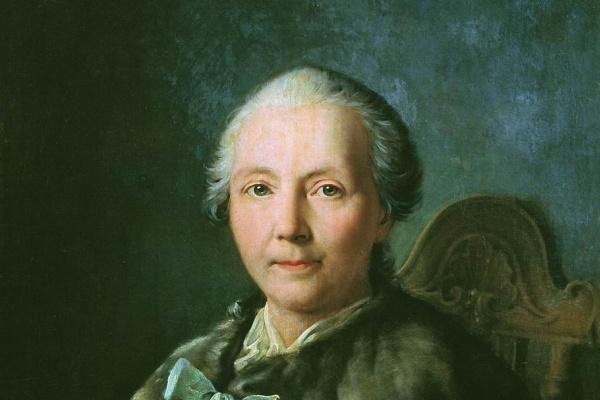 Иван Петрович Аргунов. Портрет Хрипуновой, жены Козьмы Аксентьевича Хрипунова. 1757