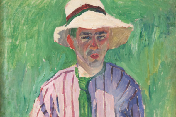 Aristarkh Vasilyevich Lentulov. Portrait of a young man in Panama