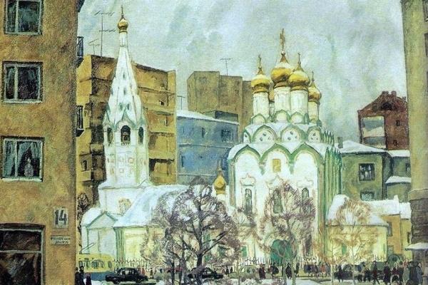 Igor Alexandrovich Popov. Frunzenskaya embankment, d. 14
