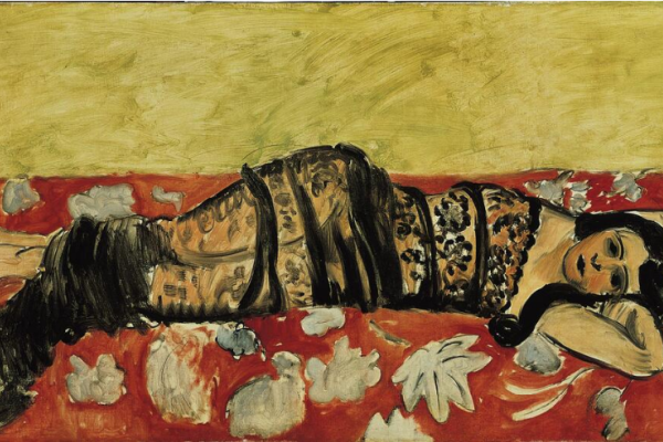 Henri Matisse. Black shawl