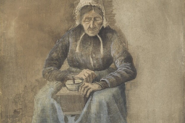 Винсент Ван Гог. Женщина, перемалывающая кофе