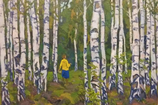 Владимир Григорьевич Власов. В лесу.