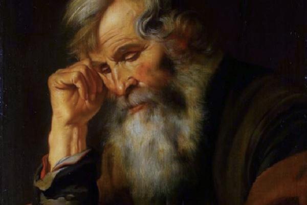 Артус Волффорт. Старик с книгой