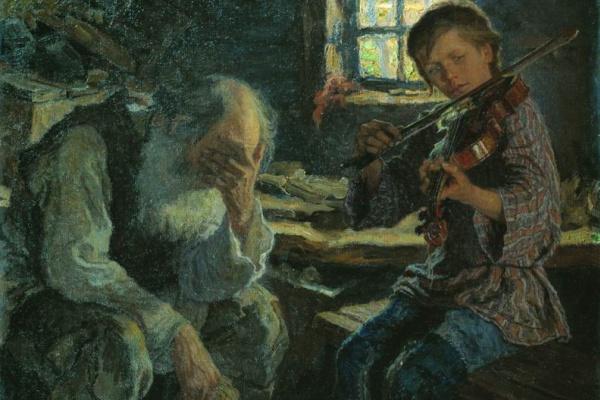 Николай Петрович Богданов-Бельский. Талант и поклонник