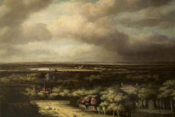 Филипс Конинк. Вид в Гелдерланде
