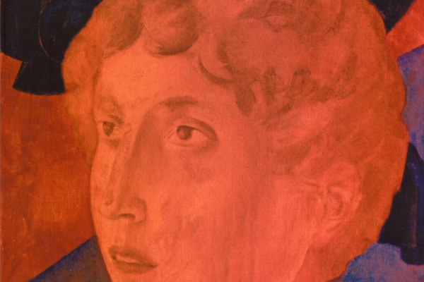 Kuzma Sergeevich Petrov-Vodkin. The head of a young man (Red Angel)