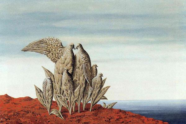 René Magritte. Treasure island