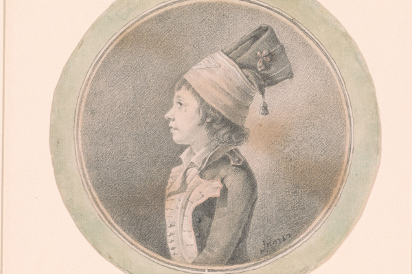 Jean Auguste Dominique Ingres. Portrait of a boy