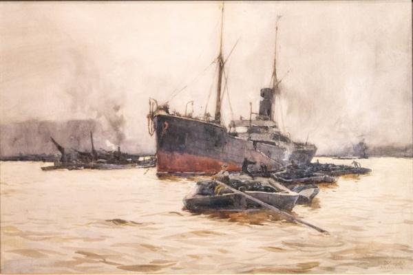 Валентин Александрович Серов. Амстердам