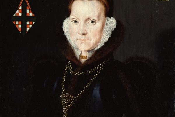 Hans Evort. Portrait Of Elizabeth Reydon, Lady Golding
