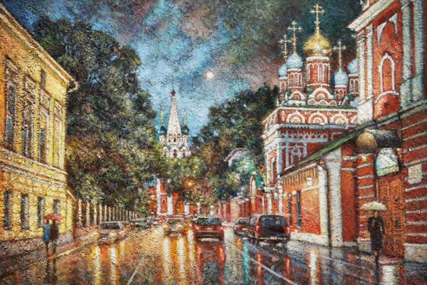 Igor Razzhivin. Гуляет дождь по старым переулкам.
