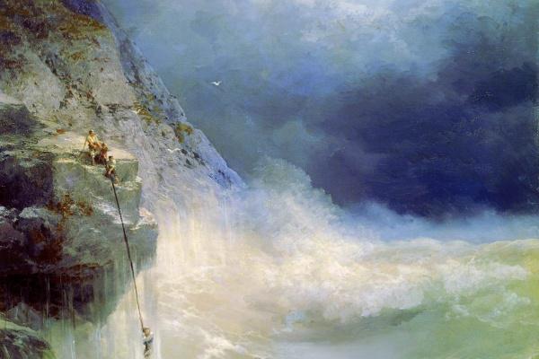 Ivan Aivazovsky. Surf