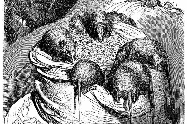 """Поль Гюстав Доре. Иллюстрация к """"Путешествию в Пиренеи"""" Тэна"""