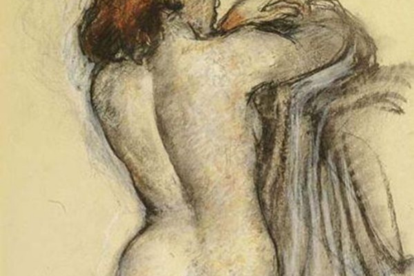 Франсуа-Эмиль Барро. Женщина со спины