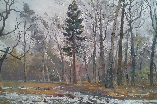 Дмитрий Павлович Костылев. 7апреля. Ботанический сад