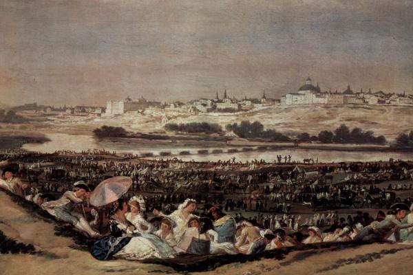Франсиско Гойя. Народный праздник в день святого Исидора