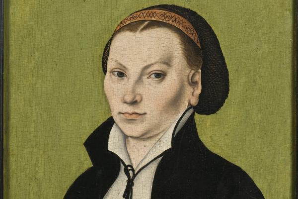 Лукас Кранах Старший. Катарина фон Бора, жена Мартина Лютера